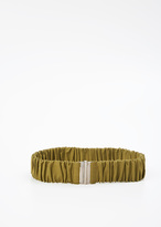 Dries Van Noten kaki belt 21/356