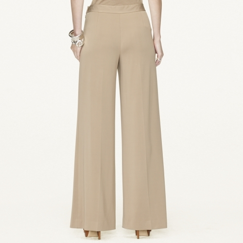 Ralph Lauren Black Label Wide-Leg Calenda Pant