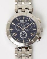 Versace Logo 44mm Chronograph