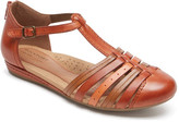 Rockport Women's Cobb Hill Galway Strappy T-Strap Sandal