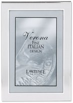 Lawrence Frames Brushed Silver 4 by 6 Metal Picture Frame