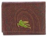 Etro Paisley Compact Wallet
