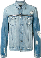 RtA distressed denim jacket