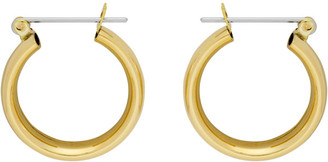 Laura Lombardi Gold Mini Band Earrings