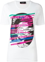 DSQUARED2 Queen T-shirt - women - Cotton - XS