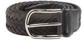 Tod's Woven suede belt