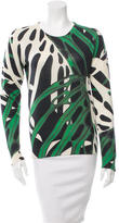 Proenza Schouler Printed Crew Neck Sweater