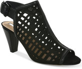Tahari Evalyn Cutout Peep-Toe Shooties