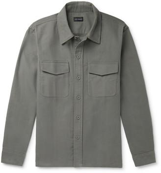 Club Monaco Cotton-Moleskin Overshirt