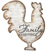 Pier 1 Imports LED Marquee Rooster Wall Decor