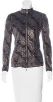 Giorgio Armani Embellished Velvet Jacket