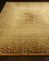 """Horchow Leopard Shadow Rug, 7'9"""" x 10'10"""""""