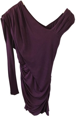 Alexander Wang Purple Viscose Dresses