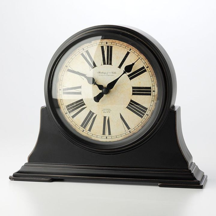 Sterling & noble old world roman mantel clock