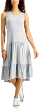Tommy Hilfiger Tiered Sleeveless Dress