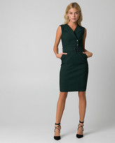 Le Château Tech Stretch Belted Shirtdress