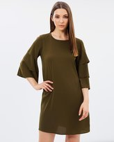 Vero Moda Bea Three-Quarter Sleeve Short Dress