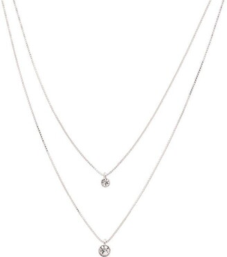 Pilgrim Lucia Silver Plated Layered Necklace