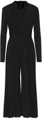 Max Mara Vieste pleated jersey jumpsuit