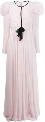 Giambattista Valli Chiffon Overlay Evening Gown