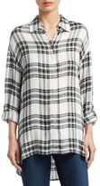 Alice + Olivia Mellie Oversized Casual Button-Down Shirt