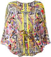 Etro multi printed blouse - women - Silk - M