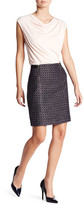 Susina Zip Tweed Mini-Pencil Skirt (Petite)