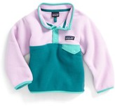 Patagonia Toddler Girl's Synchilla Snap-T Fleece Pullover