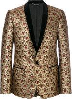 Dolce & Gabbana metallic jacquard dinner jacket