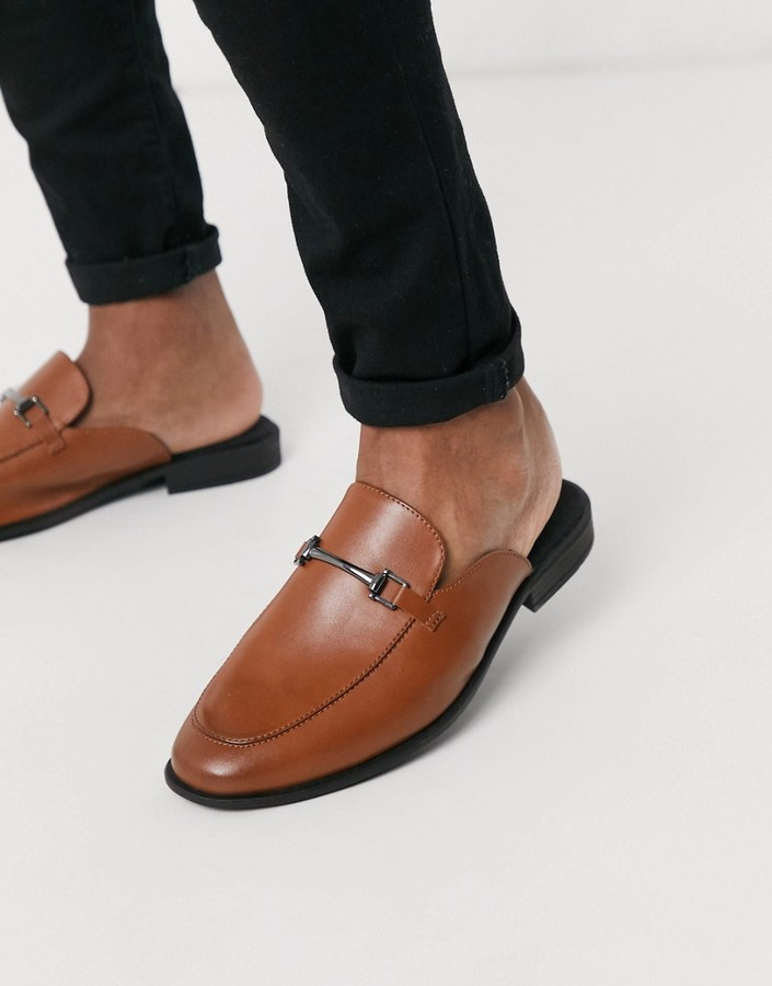 Mens Backless Loafers | Shop the world