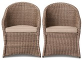 Threshold Holden 2-Piece Wicker Patio Dining Chair Set