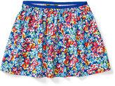Ralph Lauren 7-16 Floral Twill Pull-On Skirt