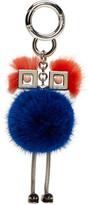 Fendi Blue Fur Chick Keychain