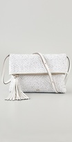 Huxley Woven Leather Clutch