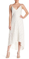 Amanda Uprichard Julia Embroidered Maxi Dress