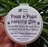 Heal's PAWS & PUPS HEALING SILK! Heal & Protect Pet Paws, Dry, Injured, Hot & Raw Spots. Gentle 100% NATURAL Balm 2 oz Cream Lotion SALVE! Vegan, Vitamin rich. Earth's finest ingredients. Organic Shea Butter, Coconut & Olive Oil, Soy Wax, Botanicals. Softens crusted skin. HEALS! Mushing, Walks, Rescues, Best Friends!