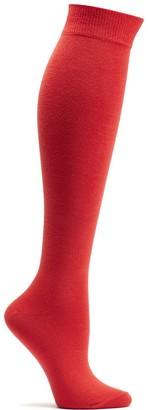 Ozone Women's Pima Cotton High Zone Sock Cherry 9-11