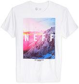 Neff Men's Quad Mountain Graphic-Print T-Shirt