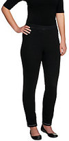 Bob Mackie As Is Bob Mackie's Smart Denim Elastic Pull-on Legging w/Back Pockets