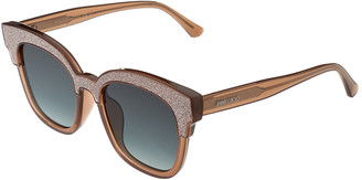 Jimmy Choo Women's Mayela/S 18U/Vh 50Mm Sunglasses
