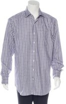 Peter Millar Plaid Long Sleeve Shirt w/ Tags