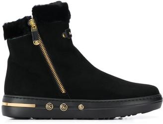 Baldinini lined side zip boots