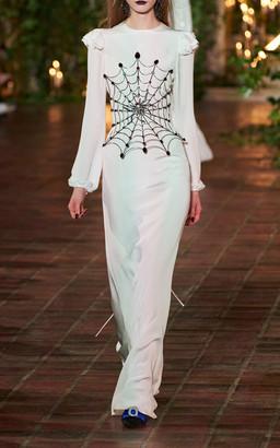 Rodarte Silk Maxi Dress