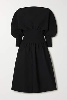 Bottega Veneta Stretch-knit Midi Dress - Black