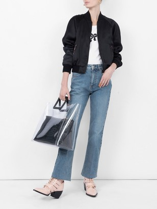 Saint Laurent Zipped Bomber Jacket