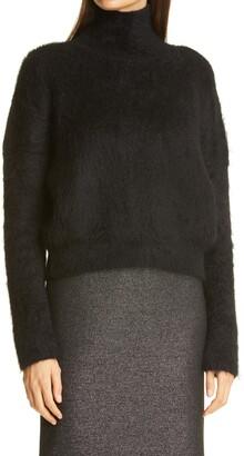 HUGO BOSS Floy Mohair Blend Turtleneck Sweater