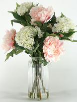Peonies and Hydrangeas in Vase