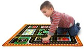 Melissa & Doug Toddler 'Round The City' Play Rug & Rescue Vehicles