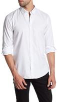 HUGO BOSS Edipoe Embroidered Dot Regular Fit Shirt