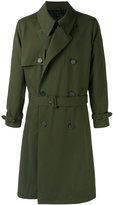 Ami Alexandre Mattiussi oversized trench coat